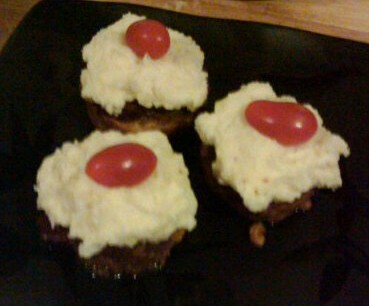 Meatloaf Cupcakes - Copy