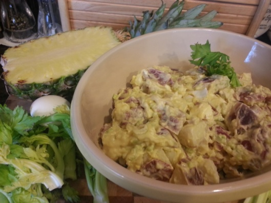 Mama's Baked Cola Ham & Mustard Potato Salad