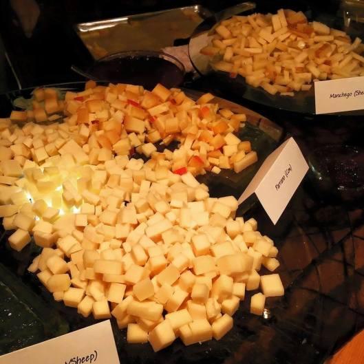close up cheese