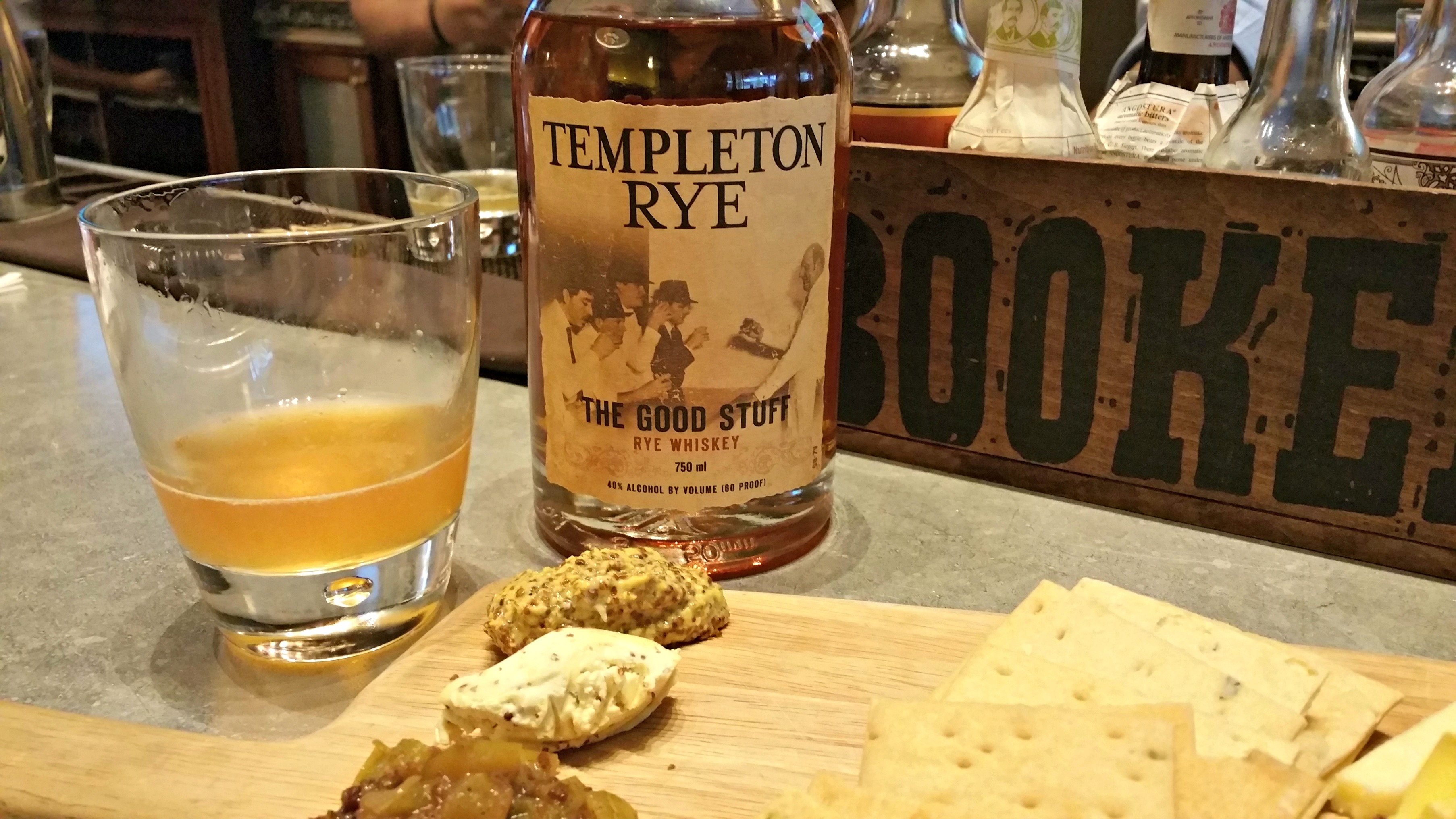 I cant thank manny enough for his expertise in creating this fabulous cocktail and templeton rye for an amazing rye whiskey